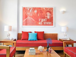 Side Sea View Room de l'hôtel Grecotel Lux Me Rhodos