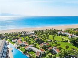 Vue aérienne du Grecotel Lux Me Rhodos en Grèce