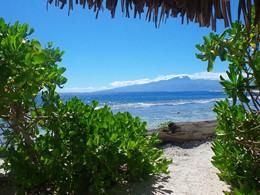Magnifique vue sur l'océan depuis le Green Lodge