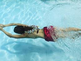 Profitez de la superbe piscine du Green Lodge