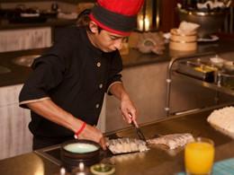 Spécialités japonaises au restaurant Seyshima du H Resort