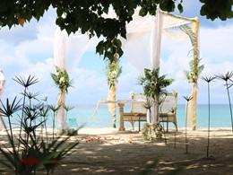 Mariage à l'hôtel H Resort Beau Vallon aux Seychelles