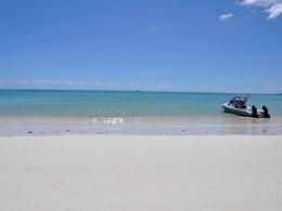 Les visiteurs pourront profiter de l'éblouissante plage de l'Heliconia Grove