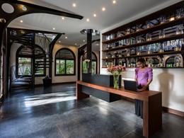 La réception de l'Heritage Suites Hotel à Siem Reap