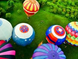 Balade en montgolfière à l'hôtel Heritance Kandalama