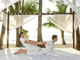 Massage sur la plage
