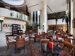 Vienna Plaza de l'hôtel Hilton Abu Dhabi