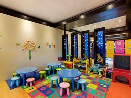 Coin enfants de l'hôtel Hilton Abu Dhabi