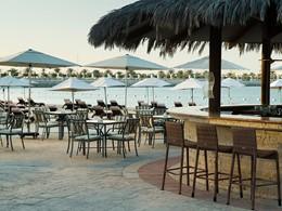 Beach Bar de l'hôtel Hilton à Abu Dhabi