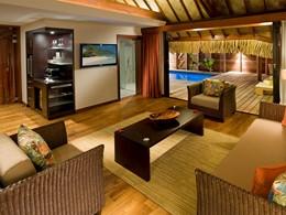 Garden Pool Suite de l'hôtel le Hilton à Moorea