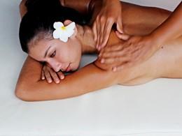 Massage au spa de l'hôtel Hilton à Moorea