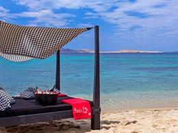 Profitez de la plage de l'hôtel