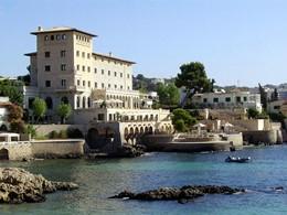 Vue du Hospes Maricel situé à Palma de Majorque