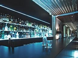 Le bar de l'hôtel Hospes Maricel aux Baléares
