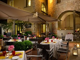 Spécialités toscanes au restaurant Osteria Della Pagliazza