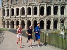 Remise en forme en plein coeur de Rome