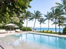 La superbe piscine de l'hôtel Esencia au Mexique