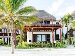 Vue extérieure de la Beach Suite de l'hôtel Esencia