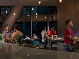 Le Lounge@Jen du Jen Orchardgateway à Singapour