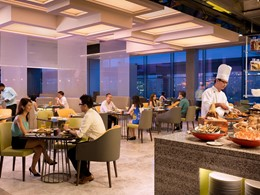 Le restaurant Makan@Jen de l'hôtel Jen Orchardgateway