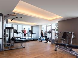 La gym de l'hôtel Jen Orchardgateway Singapore