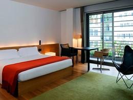 Chambre Superieure de l'hôtel OMM en Barcelone