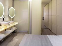 Chambre De Luxe de l'hôtel Silken Puerta de América à Madrid