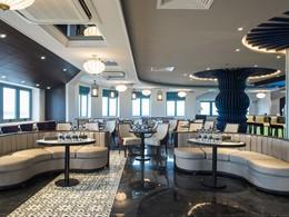 Le bar The Attic de l'Hotel Royal Hoi An au Vietnam