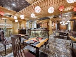 Spécialités japonaises au restaurant Wakaku de l'Hotel Royal Hoi An