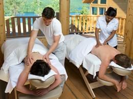 Somptueux soins au spa de l'hôtel Sacacomie