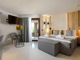 Ikaros Beach Classic Room de l''hôtel Ikaros en Crète