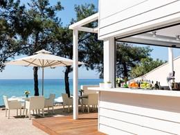 Beach Bar de l'hôtel Ikos Oceania à Halkidiki