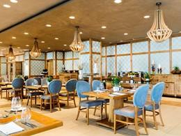 Le restaurant français Provence l'hôtel Ikos Olivia