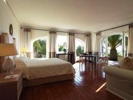 Suite Deluxe Vue Mer de l'hôtel Il Pelicano en Italie