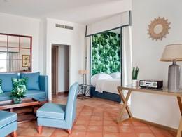 Master Suite Deluxe Vue Mer de l'hôtel Il Pelicano