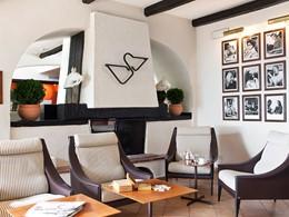 Bar Il Pellicano de l'hôtel Il Pelicano en Italie