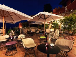 Autre vue du Bar Il Pellicano de l'hôtel Il Pelicano