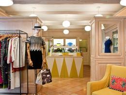La boutique de l'hôtel Il Pelicano à Porto Ercole