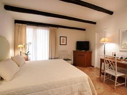 Chambre Vue Jardin de l'hôtel Il Pelicano en Italie