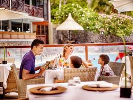 Déjeuner en famille au restaurant Kotemer