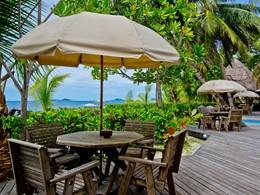 Profitez d'une belle vue sur la mer depuis l'Indian Ocean Lodge