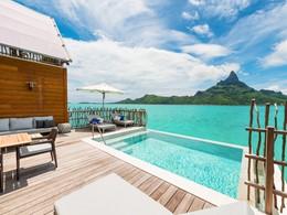 La piscine de la Brando Suite de l'hôtel Intercontinental