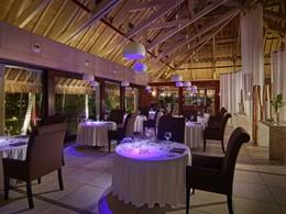 Le restaurant Le Corail de l'InterContinental Bora Bora