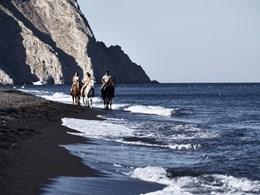 Balade à cheval sur la côte