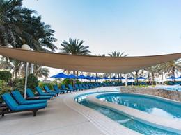 Autre vue de la piscine de l'hôtel Jebel Ali Golf Resort & Spa situé à Dubaï