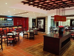 Le restaurant La Traviata de l'hôtel Jebel Ali à Dubai