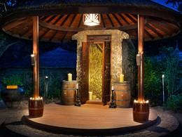 La cave à vin de l'hôtel JA Manafaru