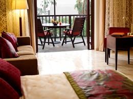 Beachfront Junior Suite de l'hôtel Palm Tree Court