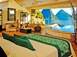Suite Star de l'hôtel Jade Mountain à Sainte-Lucie