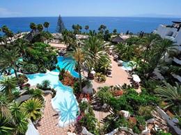 Vue de l'hôtel Jardin Tropical aux Iles Canaries